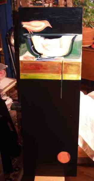 Vessel Painting in progress No. 1