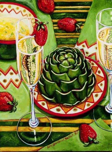 artichokes-and-champagne