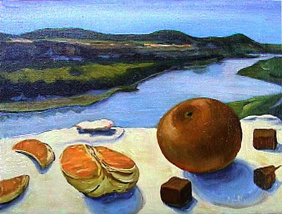 Oranges on the River