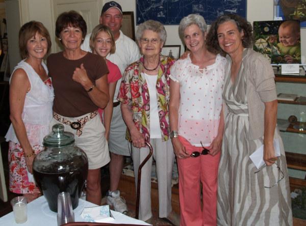 Barb, Deana, Lindsay, Gerry, Virginia, Linda, Nancy