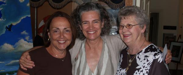 Betty, Nancy and Alma
