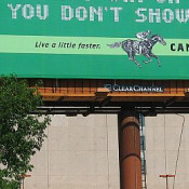 Billboard-Racehorse detail