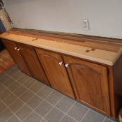 Kitchen Countertop, long