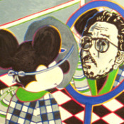 Mickey and Roger Detail