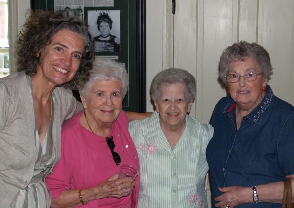 Nancy, Elizabeth, Emma Jo, Rita