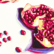 Pomegranate Detail