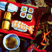 Sushi and Sake Detail