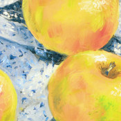 Three Apples Detail