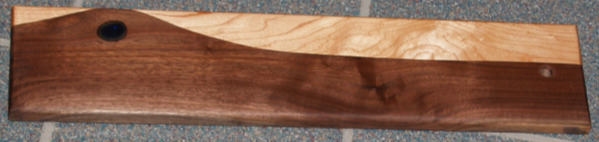 Serving Board with Glass Inlay