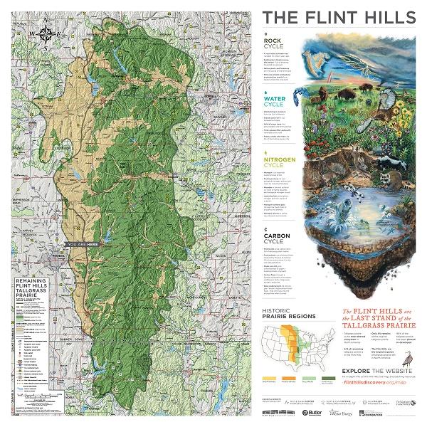 Flint Hills Maps in the Schools, Middle School Illsutration