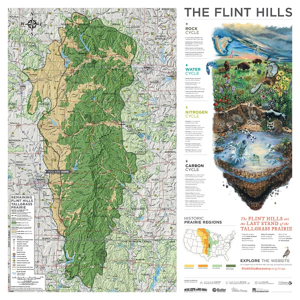 Flint Hills Maps in the Schools, Middle School Illsutration